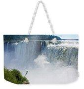 More Waterfalls At Devil's Throat In Iguazu Falls National Park-  Weekender Tote Bag