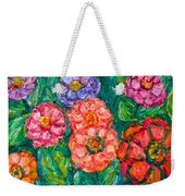 More Zinnias Weekender Tote Bag