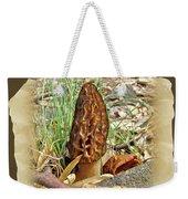 Morel Mushroom - Green Lane Pa Weekender Tote Bag
