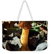 Morel Mushroom Weekender Tote Bag