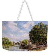 Moret-sur-loing Weekender Tote Bag by Alfred Sisley