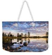 Morgan Lake Sunrise Weekender Tote Bag