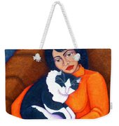 Morgana With Woman Weekender Tote Bag