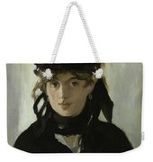 Morisot With A Bouquet Of Violets Weekender Tote Bag
