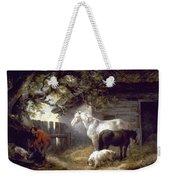 Morland: Farmyard, 1792 Weekender Tote Bag