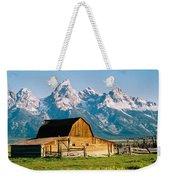 Mormon Barn Weekender Tote Bag