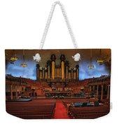 Mormon Meeting Hall Weekender Tote Bag