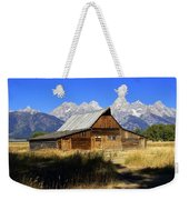 Mormon Row Barn 2 Weekender Tote Bag