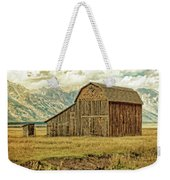 Mormon Row Barn No 3 Weekender Tote Bag