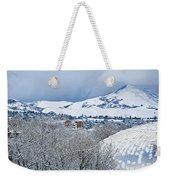 Mormon Tabernacle In Snow II Weekender Tote Bag