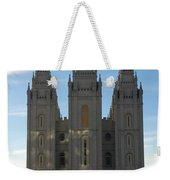 Mormon Temple Fall Weekender Tote Bag