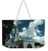 Mormon Temple Folsom Ca Weekender Tote Bag