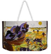 Morning Activities Weekender Tote Bag