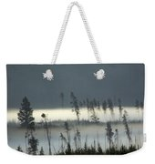 Morning Along The Madison Weekender Tote Bag