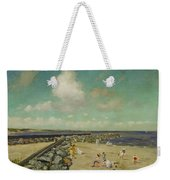 Morning At Breakwater, Shinnecock Weekender Tote Bag