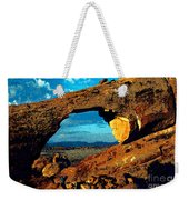 Morning At Landscape Arch Weekender Tote Bag