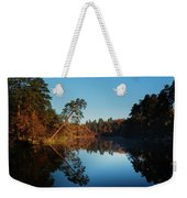 Morning At The Lake Weekender Tote Bag