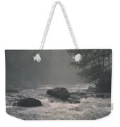 Morning At The River Weekender Tote Bag