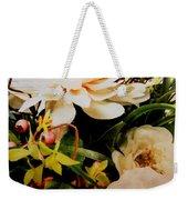 Morning Bloom Weekender Tote Bag