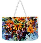 Morning Bouquet Weekender Tote Bag