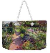 Morning Break In The Garden Weekender Tote Bag