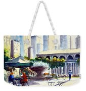Morning, Bryant Park  Weekender Tote Bag