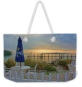 Morning By The Bay Weekender Tote Bag