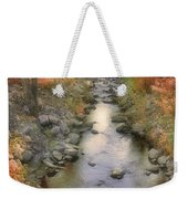 Morning By The Creek Weekender Tote Bag