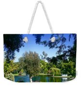 Morning By The Lake Weekender Tote Bag