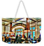 Morning Call Coffee Stand Weekender Tote Bag