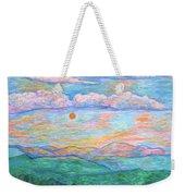 Morning Color Dance Weekender Tote Bag