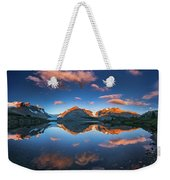 Morning Colors At Ice Field Center Weekender Tote Bag