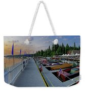 Morning Colors Weekender Tote Bag