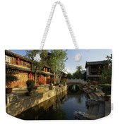 Morning Comes To Lijiang Ancient Town Weekender Tote Bag