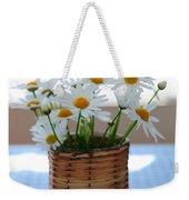 Morning Daisies Weekender Tote Bag