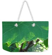 Morning Dew Diamonds Weekender Tote Bag