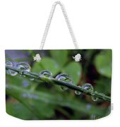 Morning Dewdrops 2 Weekender Tote Bag