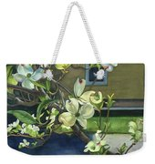 Morning Dogwood Weekender Tote Bag
