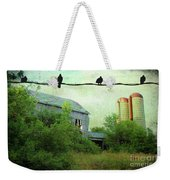 Morning Doves Weekender Tote Bag