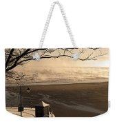 Morning Filey Beach Weekender Tote Bag