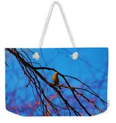 Morning Finch Weekender Tote Bag