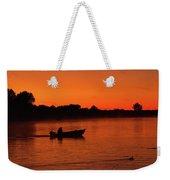 Morning Fishing On The Lake Weekender Tote Bag