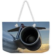 Morning Flight Weekender Tote Bag