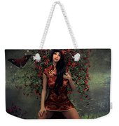 Morning Floral Weekender Tote Bag
