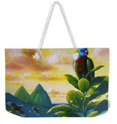 Morning Glory - St. Lucia Parrots Weekender Tote Bag