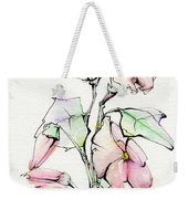 Morning Glory Weekender Tote Bag