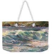 Morning Glow On Sugar Beach Weekender Tote Bag