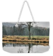 Morning Haze And Reflections Weekender Tote Bag
