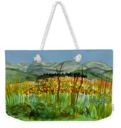 Morning In Backyard At Barton Weekender Tote Bag
