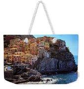 Morning In Manarola Cinque Terre Italy Weekender Tote Bag